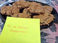 Schokolade, Cookies, Kekse, backen